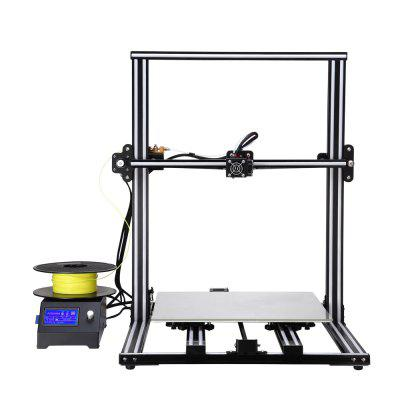 Alfawise U10 3D Printer 40 x 40 x 50cm Printing Size DIY Kit3D Printers, 3D Printer Kits<br>Alfawise U10 3D Printer 40 x 40 x 50cm Printing Size DIY Kit<br><br>Brand: Alfawise<br>Connector Type: USB, SD card<br>File format: STL, OBJ, DAE, AMF<br>Frame material: Aluminum Alloy<br>Language: English<br>Layer thickness: 0.05-0.3mm<br>LCD Screen: Yes<br>Material diameter: 1.75mm<br>Memory card offline print: SD card<br>Model: U10<br>Nozzle diameter: 0.4mm<br>Nozzle quantity: Single<br>Nozzle temperature: Room temperature to 260 degree<br>Package size: 71.00 x 63.00 x 28.00 cm / 27.95 x 24.8 x 11.02 inches<br>Package weight: 17.0000 kg<br>Packing Contents: 1 x DIY 3D Printer Kit, 1 x EU Plug<br>Packing Type: unassembled packing<br>Print speed: 10 - 150mm/s<br>Product forming size: 40 x 40 x 50cm<br>Product size: 58.20 x 69.70 x 75.50 cm / 22.91 x 27.44 x 29.72 inches<br>Product weight: 15.0000 kg<br>Supporting material: TPU, ABS, Nylon, PLA<br>Type: DIY<br>Voltage: 110V/220V<br>Working Power: 360W<br>XY-axis positioning accuracy: 0.012mm<br>Z-axis positioning accuracy: 0.004mm