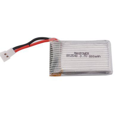 MAXPOWER 3.7V 800mAh 30C LiPo Battery