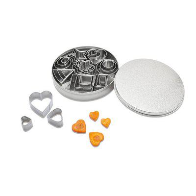 Stainless Steel Biscuit Mold 24pcs