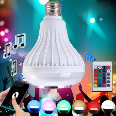 Utorch Intelligent E27 Colorful LED Lamp Bluetooth 3.0 Speaker