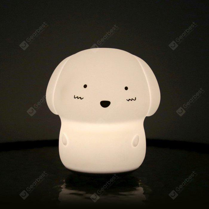 Utorch Cute Dog Silicone Night Light