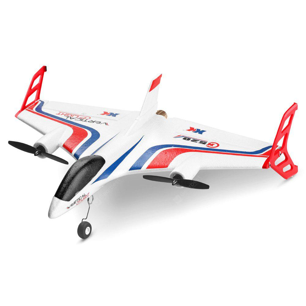 XK X520 - W 720P WiFi 6CH Brushless Vertical Stunt Fixed-wing Aircraft