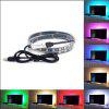 RGB Change Color LED Tele Background Light Lucency with Remote Controller - RGB