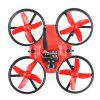 Makerfire MICRO FPV 64mm Mini RC Racing Drone - BNF - RED