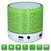 Bluetooth Speaker Wireless Portable Mini LED Small Music Audio TF USB FM Stereo Sound Speaker for Phone Xiaomi Computer - GREEN