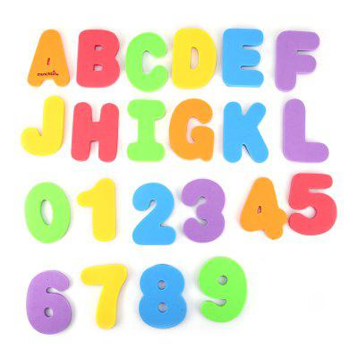 Educational Letters and Numbers Bath Toys