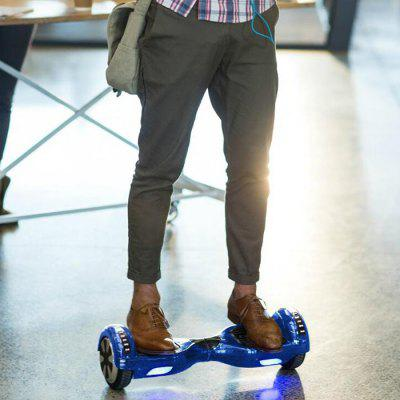I3 6.5 inch Self Balancing Scooter with Horse Running LightScooters and Wheels<br>I3 6.5 inch Self Balancing Scooter with Horse Running Light<br><br>Battery: Li-ion battery<br>Battery Capacity: 4Ah<br>Bluetooth: Yes<br>Charger type: US plug<br>Charging Time: 5 Hours<br>Folding Type: Non-folding<br>For: Teenagers, Office Workers<br>Max Payload: 100kg<br>Maximum Grade Ability: 15 degrees<br>Maximum Mileage: 12km<br>Maximum Speed (km/h): 10km/h<br>Mileage (depends on road and driver weight): 10-15km<br>Motor Rated Power: 2 x 350W<br>Package Contents: 1 x Self Balancing Scooter, 1 x Charger, 1 x English User Manual, 1 x Handbag<br>Package size (L x W x H): 67.00 x 27.00 x 28.00 cm / 26.38 x 10.63 x 11.02 inches<br>Package weight: 11.2000 kg<br>Pedal Ground Clearance (no weight bearing): 3cm<br>Permissible Gradient (depends on your weight): 10-15 degree<br>Product size (L x W x H): 58.40 x 17.80 x 18.50 cm / 22.99 x 7.01 x 7.28 inches<br>Product weight: 9.2000 kg<br>Seat Type: without Seat<br>Tire Diameter: 6.5 inches<br>Type: Self Balancing Scooter<br>Version: V4.0<br>Wheel Number: 2 Wheel<br>Working Temperature: 0 to 45 Deg.C
