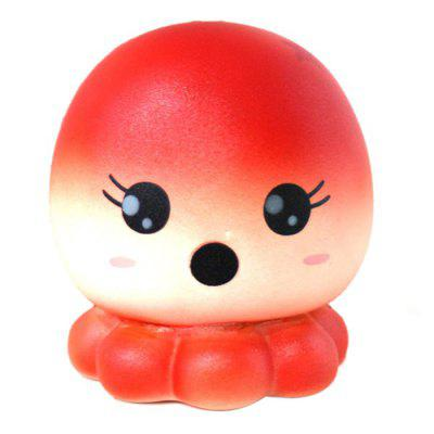 Octopus Model PU Squishy Relieve Stress Toy