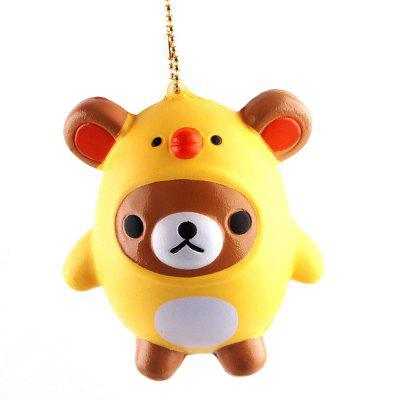 PU Little Bear Chick Model Squishy Relieve Stress Toy