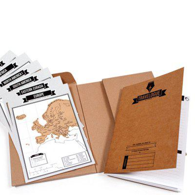 Creative Logbook World Travel Scratch BookOther holiday and party supplies<br>Creative Logbook World Travel Scratch Book<br><br>For: All<br>Package Contents: 1 x Scratch Book<br>Package size (L x W x H): 24.00 x 20.00 x 3.00 cm / 9.45 x 7.87 x 1.18 inches<br>Package weight: 0.3200 kg<br>Product size (L x W x H): 22.50 x 17.00 x 2.00 cm / 8.86 x 6.69 x 0.79 inches<br>Product weight: 0.3000 kg