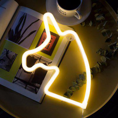 Creative LED Neon Light Decorative Night Lamp