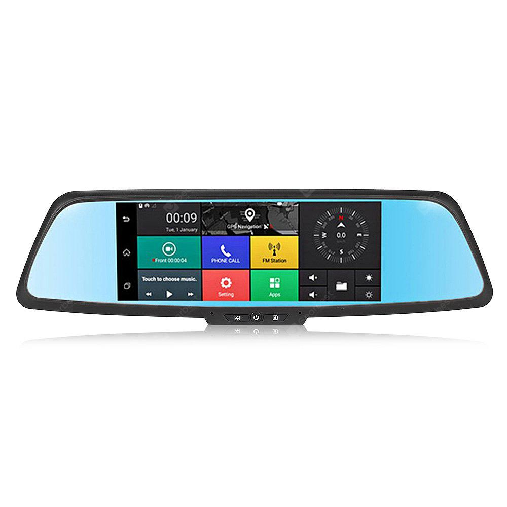 A9 Car DVR 7 inch Dual Lens GPS Navigation
