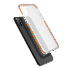Rock Transparent Dirt-proof Back Cover for iPhone X