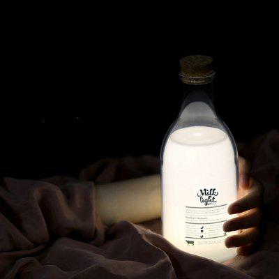 Milk Bottle Design USB Charging LED Night LightDecorative Lights<br>Milk Bottle Design USB Charging LED Night Light<br><br>Decorative Style: Simple and Modern<br>Package Contents: 1 x Light, 1 x USB Cable<br>Package size (L x W x H): 10.00 x 10.00 x 25.00 cm / 3.94 x 3.94 x 9.84 inches<br>Package weight: 0.3200 kg<br>Power Supply: USB Cable<br>Product size (L x W x H): 8.00 x 8.00 x 22.00 cm / 3.15 x 3.15 x 8.66 inches<br>Product weight: 0.3000 kg<br>Type: Decorative Lighting