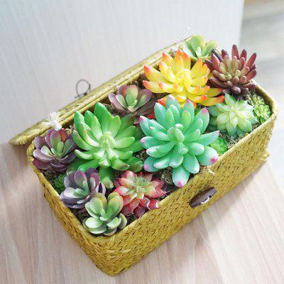 LmDec 17FZLV01 Artificial Plants Set Succulents for DecorOther holiday and party supplies<br>LmDec 17FZLV01 Artificial Plants Set Succulents for Decor<br><br>Brand: LmDec<br>Package Contents: 1 x Set of Artificial Plants<br>Package size (L x W x H): 30.00 x 20.00 x 20.00 cm / 11.81 x 7.87 x 7.87 inches<br>Package weight: 0.7000 kg<br>Product size (L x W x H): 23.00 x 13.00 x 11.00 cm / 9.06 x 5.12 x 4.33 inches<br>Product weight: 0.4800 kg