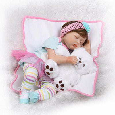NPK Emulate Soft Reborn Nipple Baby Doll Stuffed Toy