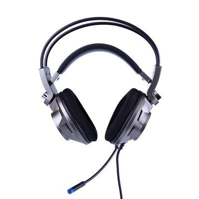 Somic G955 7.1 Channel Stereo Headband Gaming HeadsetGaming Headphones<br>Somic G955 7.1 Channel Stereo Headband Gaming Headset<br><br>Application: Gaming, DJ<br>Brand: Somic<br>Cable Length (m): 2.2m<br>Compatible with: Computer<br>Connecting interface: USB<br>Connectivity: Wired<br>Driver unit: 40mm<br>Frequency response: 20-20000Hz<br>Function: Voice control, Microphone<br>Impedance: 32ohms±15 percent<br>Material: ABS<br>Model: G955<br>Package Contents: 1 x Pair of Headsets, 1 x English User Manual<br>Package size (L x W x H): 23.50 x 26.00 x 16.00 cm / 9.25 x 10.24 x 6.3 inches<br>Package weight: 0.6200 kg<br>Product size (L x W x H): 20.00 x 22.00 x 10.00 cm / 7.87 x 8.66 x 3.94 inches<br>Product weight: 0.3300 kg<br>Sensitivity: 114dB ± 3dB<br>Type: Over-ear<br>Wearing type: Headband