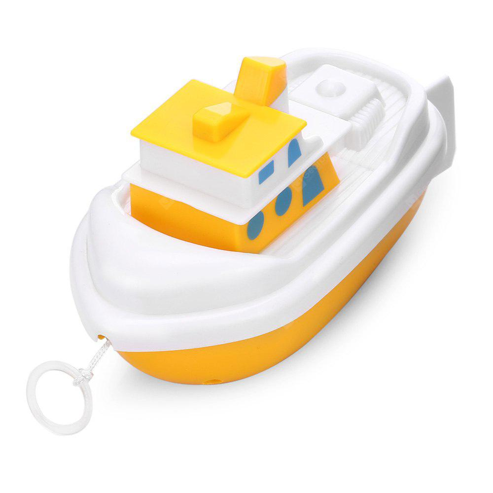 Bath Toys Wind Up Swimming Fishing Boat