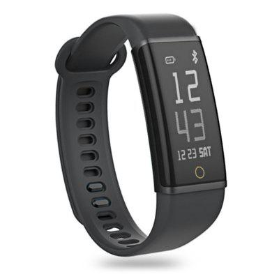 Gearbest Lenovo Cardio Plus HX03W Smartband - BLACK Bluetooth 4.2 Heart Rate / Sleep Monitor IP68 Waterproof