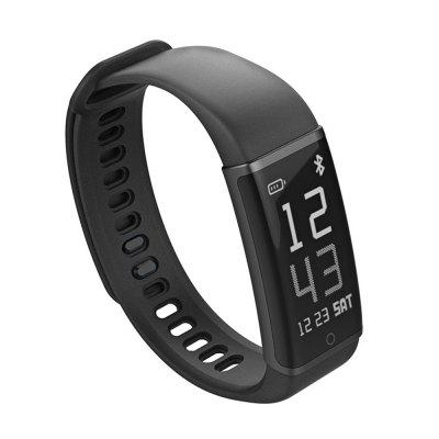 Lenovo Cardio Plus HX03W SmartbandSmart Watches<br>Lenovo Cardio Plus HX03W Smartband<br><br>Alert type: Vibration<br>Band material: TPE<br>Band size: 28 x 1.8cm<br>Battery  Capacity: 85mAh<br>Bluetooth calling: Phone call reminder<br>Bluetooth Version: Bluetooth 4.2<br>Brand: Lenovo<br>Built-in chip type: Nordic 52832<br>Case material: Plastic<br>Charging Time: About 60mins<br>Compatability: Compatible for iOS 8.0 and above,  Android 4.4 and above<br>Compatible OS: Android, IOS<br>Dial size: 4.2 x 1.8 x 0.8cm<br>Groups of alarm: 5<br>Health tracker: Heart rate monitor,Pedometer,Sedentary reminder,Sleep monitor<br>IP rating: IP68<br>Language: Danish,English,French,German,Italian,Japanese,Norwegian,Polish,Russian,Simplified Chinese,Spanish,Traditional Chinese<br>Locking screen: 5<br>Messaging: Message reminder<br>Notification: Yes<br>Notification type: Facebook, WhatsApp, Wechat, G-mail, Skype, Twitter, Line<br>Operating mode: Touch Key<br>Other Function: Calendar, Bluetooth, Waterproof, Alarm<br>Package Contents: 1 x Smart Bracelet, 1 x English User Manual<br>Package size (L x W x H): 8.70 x 7.70 x 2.50 cm / 3.43 x 3.03 x 0.98 inches<br>Package weight: 0.0500 kg<br>People: Female table,Male table<br>Product size (L x W x H): 28.00 x 1.80 x 0.80 cm / 11.02 x 0.71 x 0.31 inches<br>Product weight: 0.0200 kg<br>RAM: 64K<br>ROM: 512K<br>Screen: OLED<br>Screen resolution: 128 x 64<br>Screen size: 0.96 inch<br>Shape of the dial: Rectangle<br>Standby time: 7 days<br>Waterproof: Yes