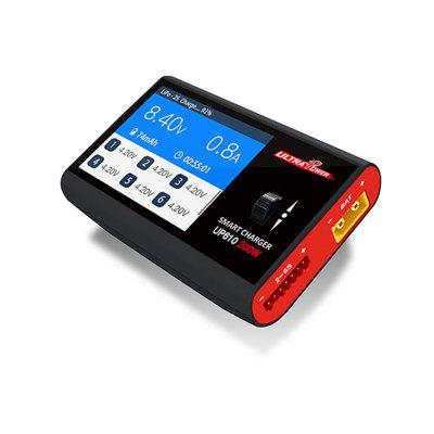 UP610 200W 10A Balance Charger for LiPo Battery with Display