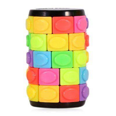 QiYi Cylindrical Magic Finger Cube Puzzle Toy Gift 5 Layers