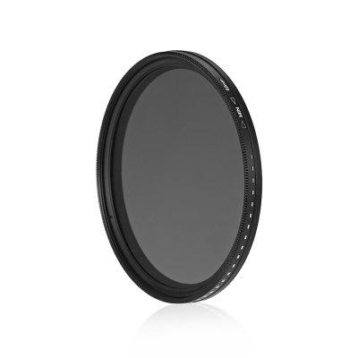 82mm Fader Variable ND Filter Adjustable ND2 to ND400Filter<br>82mm Fader Variable ND Filter Adjustable ND2 to ND400<br><br>Material of filter frame: Aviation Aluminium Material<br>Material of lens: Optical glass<br>Package Contents: 1 x 82mm ND Filter<br>Package size (L x W x H): 11.00 x 11.00 x 2.00 cm / 4.33 x 4.33 x 0.79 inches<br>Package weight: 0.0900 kg<br>Product size (L x W x H): 9.00 x 9.00 x 1.00 cm / 3.54 x 3.54 x 0.39 inches<br>Product weight: 0.0500 kg<br>Size: 82mm<br>Type: Neutral-density Filter / ND Filter