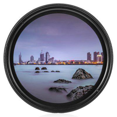55mm ND Fader ND2 to ND400 Adjustable Variable Filter