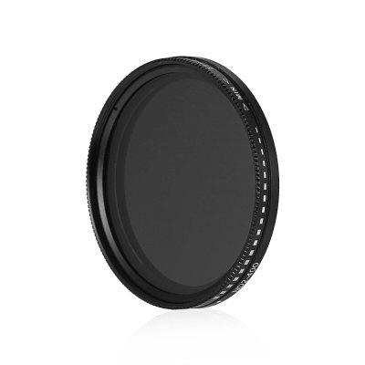 55mm ND Fader ND2 to ND400 Adjustable Variable FilterFilter<br>55mm ND Fader ND2 to ND400 Adjustable Variable Filter<br><br>Material of filter frame: Aviation Aluminium Material<br>Material of lens: Optical glass<br>Package Contents: 1 x 55mm ND Filter<br>Package size (L x W x H): 10.00 x 10.00 x 2.00 cm / 3.94 x 3.94 x 0.79 inches<br>Package weight: 0.0500 kg<br>Product size (L x W x H): 6.00 x 6.00 x 1.00 cm / 2.36 x 2.36 x 0.39 inches<br>Product weight: 0.0210 kg<br>Size: 55mm<br>Type: Neutral-density Filter / ND Filter