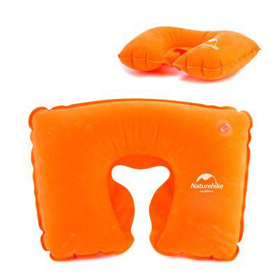 NatureHike Air Inflation Cuscino di Collo in Stile U di Gonfiaggio ad Aria