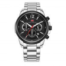 MINI FOCUS MF0087G Stainless Steel Band Quartz Watch