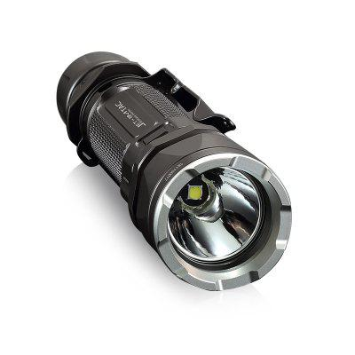 JETBeam JET - IIM CREE XP - L HI Tactical LED FlashlightLED Flashlights<br>JETBeam JET - IIM CREE XP - L HI Tactical LED Flashlight<br><br>Battery Included or Not: No<br>Battery Quantity: 1 x 18650 or 2 x CR123A or 2 x RCR123A<br>Battery Type: 18350, RCR123A, CR123A<br>Beam Distance: 200-250m<br>Body Material: Aerospace-grade Aluminum Alloy<br>Brand: JETBeam<br>Color: Black<br>Color Temperature: 6500 - 7000K<br>Emitters: Cree XP-L HI<br>Emitters Quantity: 1<br>Feature: Adjustable brightness, Portable, Waterproof<br>Flashlight Processing Technology: Aerospace Grade Aluminum Body with Anti Scratching Type III Hard Anodization<br>Flashlight size: Mid size<br>Flashlight Type: Handheld,Tactical<br>Function: Law Enforcement, Hunting, Exploring, Emergency, Military and Tactical<br>High Mode: 1.5h<br>Impact Resistance: 1.5M<br>Low Mode: 15h<br>Luminous Flux: 1100LM max<br>Luminous Intensity: 13800cd max<br>Max.: 150h ( ultra low )<br>Mid Mode: 4.5h<br>Mode: 6 (High; Mid; Low; Ultralow; Strobe; SOS)<br>Model: JET - IIM<br>Package Contents: 1 x LED Flashlight, 1 x Clip, 1 x O-ring, 1 x English User Manual<br>Package size (L x W x H): 23.00 x 11.00 x 7.50 cm / 9.06 x 4.33 x 2.95 inches<br>Package weight: 0.2700 kg<br>Power Source: Battery<br>Product size (L x W x H): 15.07 x 3.35 x 2.54 cm / 5.93 x 1.32 x 1 inches<br>Product weight: 0.1510 kg<br>Strobe Mode: 3h<br>Waterproof Standard: IPX-8 Standard Waterproof (Underwater 2m)