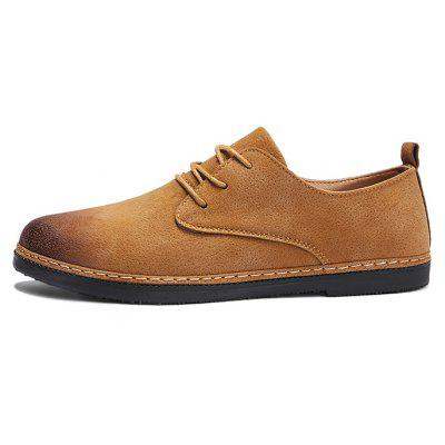 Men Simple Modern Thin Brush Toe Casual Leather ShoesCasual Shoes<br>Men Simple Modern Thin Brush Toe Casual Leather Shoes<br><br>Closure Type: Lace-Up<br>Contents: 1 x Pair of Shoes, 1 x Box<br>Function: Slip Resistant<br>Lining Material: Leather<br>Materials: Rubber, Suede, Leather<br>Occasion: Tea Party, Shopping, Office, Holiday, Casual, Daily, Party, Dress, Formal<br>Outsole Material: Rubber<br>Package Size ( L x W x H ): 30.00 x 20.00 x 10.00 cm / 11.81 x 7.87 x 3.94 inches<br>Package weight: 0.7500 kg<br>Product weight: 0.7000 kg<br>Seasons: Autumn,Spring<br>Style: Modern, Business, Casual, Comfortable, Fashion, Formal, Leisure<br>Toe Shape: Round Toe<br>Type: Casual Leather Shoes<br>Upper Material: Suede