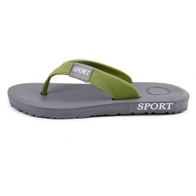 Men Sporty Casual Solid Beach Flip-flops SlipperMens Slippers<br>Men Sporty Casual Solid Beach Flip-flops Slipper<br><br>Closure Type: Slip-On<br>Contents: 1 x Pair of Shoes<br>Function: Slip Resistant<br>Materials: Rubber, Knitted Fabric<br>Occasion: Shopping, Rainy Day, Outdoor Clothing, Holiday, Party, Beach, Casual, Daily<br>Outsole Material: Rubber<br>Package Size ( L x W x H ): 28.00 x 13.00 x 2.00 cm / 11.02 x 5.12 x 0.79 inches<br>Package weight: 0.3600 kg<br>Pattern Type: Solid<br>Product weight: 0.3500 kg<br>Seasons: Spring,Summer<br>Style: Modern, Leisure, Fashion, Comfortable, Casual<br>Toe Shape: Open Toe<br>Type: Slippers<br>Upper Material: Knitted Fabric