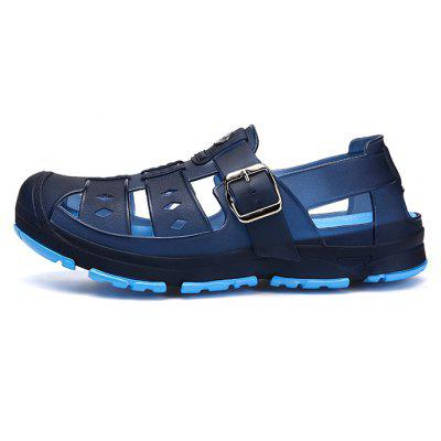 Men Classic Buckle Casual Hollow Beach Water SandalsMens Sandals<br>Men Classic Buckle Casual Hollow Beach Water Sandals<br><br>Closure Type: Buckle Strap<br>Contents: 1 x Pair of Shoes<br>Decoration: Hollow Out<br>Function: Slip Resistant<br>Materials: PU, Rubber<br>Occasion: Shopping, Rainy Day, Party, Outdoor Clothing, Holiday, Daily, Beach, Casual<br>Outsole Material: Rubber<br>Package Size ( L x W x H ): 28.00 x 13.00 x 5.00 cm / 11.02 x 5.12 x 1.97 inches<br>Package weight: 0.4700 kg<br>Pattern Type: Solid<br>Product weight: 0.4500 kg<br>Seasons: Autumn,Spring,Summer<br>Style: Modern, Leisure, Fashion, Comfortable, Casual<br>Toe Shape: Round Toe<br>Type: Sandals<br>Upper Material: PU