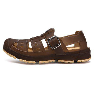 Men Classic Buckle Casual Hollow Beach Water Sandals pepe jeans pm503586 816