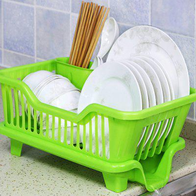 Plastic Kitchen Bowl Chopsticks Dishes Draining RackOther Kitchen Accessories<br>Plastic Kitchen Bowl Chopsticks Dishes Draining Rack<br><br>Material: Plastic<br>Package Contents: 1 x Draining Rack<br>Package size (L x W x H): 19.00 x 45.00 x 24.00 cm / 7.48 x 17.72 x 9.45 inches<br>Package weight: 0.0600 kg<br>Product size (L x W x H): 18.00 x 44.00 x 23.00 cm / 7.09 x 17.32 x 9.06 inches<br>Product weight: 0.0500 kg<br>Type: Other Kitchen Accessories