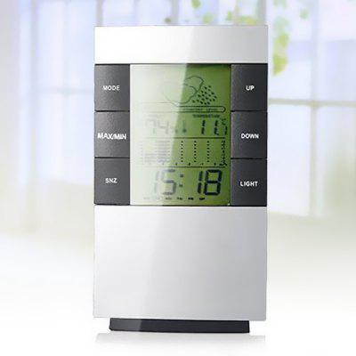 Multifunctional LCD Digital Weather Station Clocks
