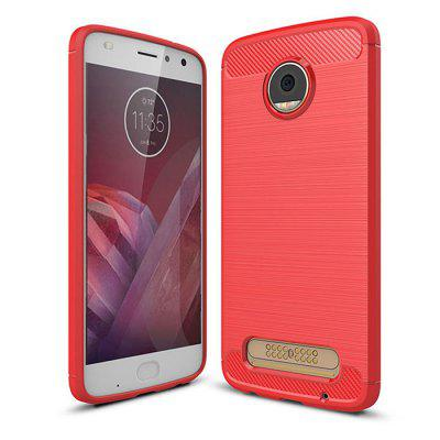 Naxtop Wire Drawing Dirt-proof Back Case for Moto Z2 Play