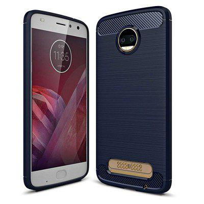 Naxtop Wire Drawing Dirt-proof Back Case for Moto Z2 Force