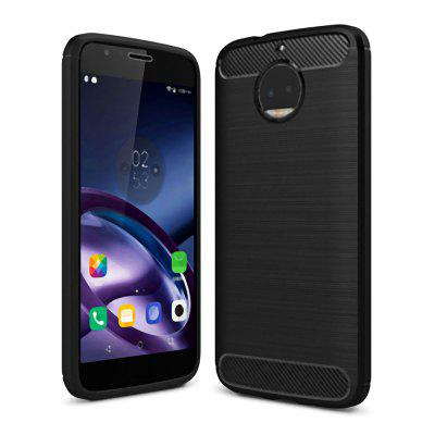 Naxtop Wire Drawing Dirt-proof Back Case for Moto G5S Plus