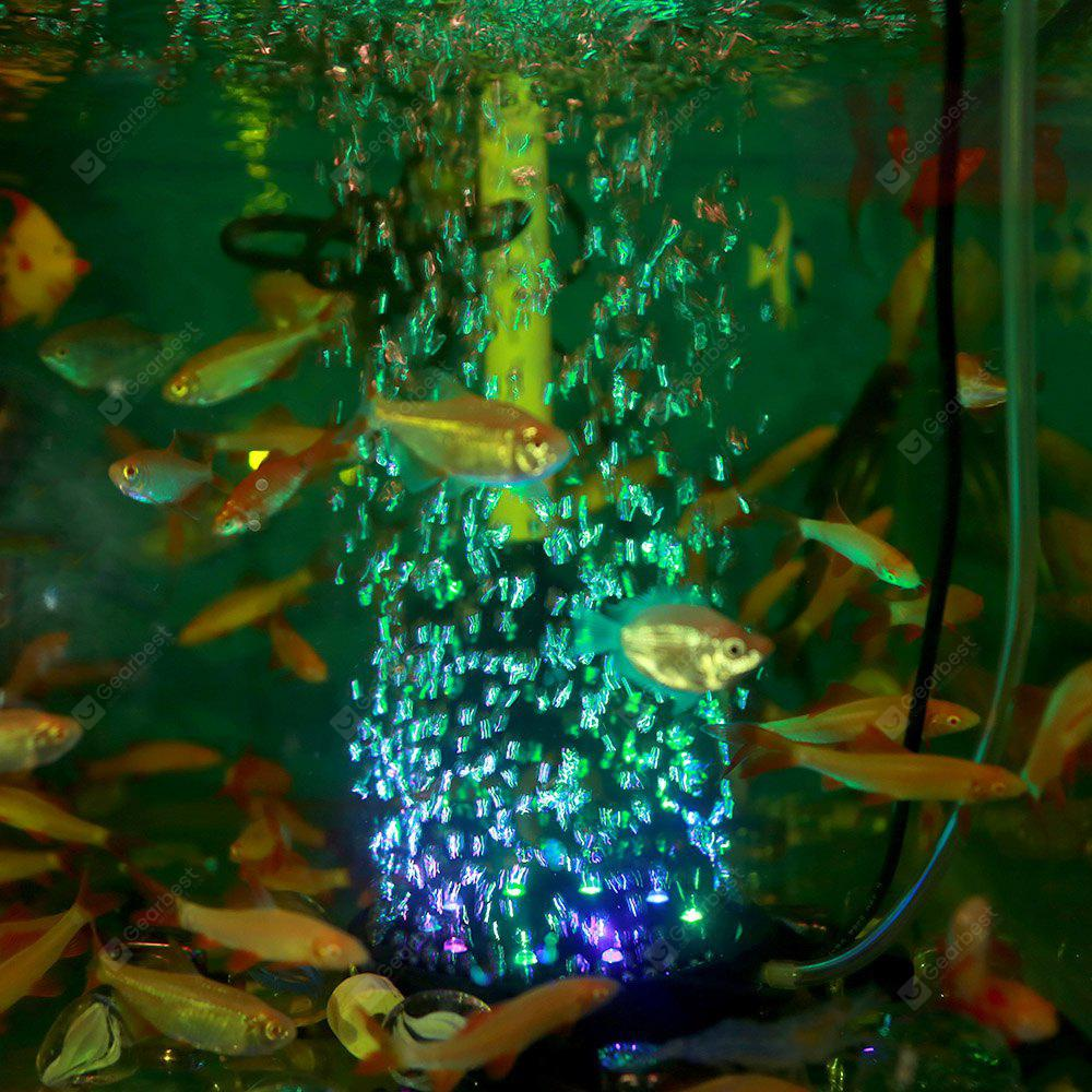 JIAWEN Colorful Fish Tank Air Bubble Lamp Decorative Lights - $10.60 ...
