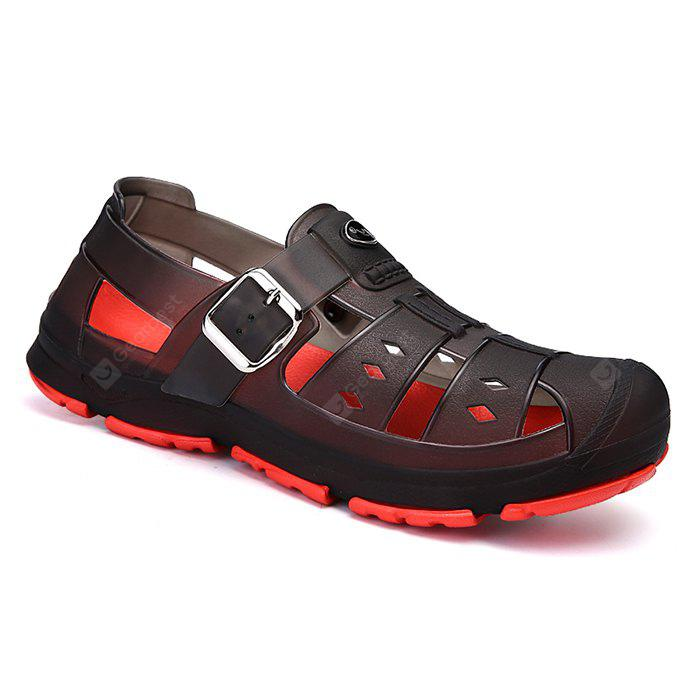 free shipping tumblr Men Classic Buckle Casual Hollow Beach Water Sandals discount finishline recommend cheap online XxQVMGIl0
