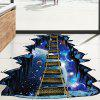 Decorative 3D Wall Sticker Drawbridge Style Mural Decals - COLORMIX