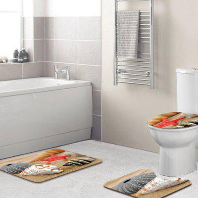 Floor Rug Toilet Cover Starfish Anti-slip Bathroom Mat 3pcsOther Bathroom Accessories<br>Floor Rug Toilet Cover Starfish Anti-slip Bathroom Mat 3pcs<br><br>Package Contents: 1 x Rectangle Mat, 1 x U-shaped Mat, 1 x Toilet Cover<br>Package size (L x W x H): 40.00 x 30.00 x 6.00 cm / 15.75 x 11.81 x 2.36 inches<br>Package weight: 0.3400 kg<br>Product weight: 0.3200 kg