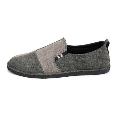 Men British Stylish Split Joint Soft Casual Flat LoafersMen British Stylish Split Joint Soft Casual Flat Loafers<br><br>Closure Type: Slip-On<br>Contents: 1 x Pair of Shoes, 1 x Box<br>Decoration: Split Joint,Stripe<br>Function: Slip Resistant<br>Materials: Rubber, Suede<br>Occasion: Tea Party, Shopping, Party, Office, Casual, Daily, Holiday<br>Outsole Material: Rubber<br>Package Size ( L x W x H ): 32.00 x 20.00 x 10.00 cm / 12.6 x 7.87 x 3.94 inches<br>Package weight: 0.6500 kg<br>Product weight: 0.6000 kg<br>Seasons: Autumn,Spring<br>Style: Modern, Leisure, Fashion, Comfortable, Casual<br>Toe Shape: Round Toe<br>Type: Flat Shoes<br>Upper Material: Suede
