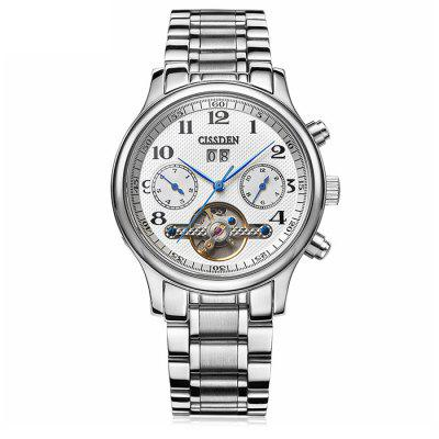 CISSDEN FY022 Men Watch with Stainless Steel Band