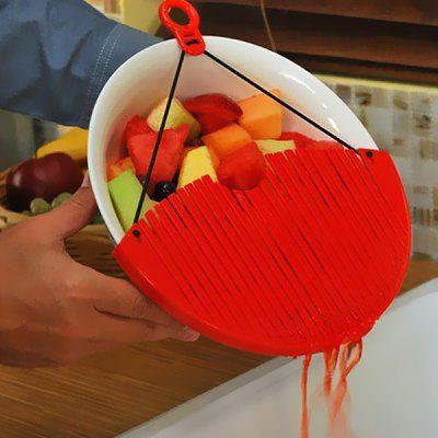 Practical Red Drainer for Kitchen