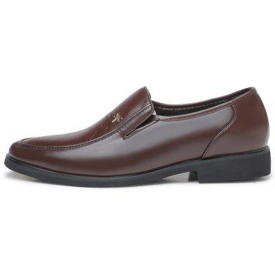 Men Classic Business Soft Dragonfly Motif Dress ShoesFormal Shoes<br>Men Classic Business Soft Dragonfly Motif Dress Shoes<br><br>Closure Type: Slip-On<br>Contents: 1 x Pair of Shoes, 1 x Box<br>Function: Slip Resistant<br>Materials: Rubber, Microfiber Leather<br>Occasion: Tea Party, Office, Formal, Dress, Party, Casual, Daily<br>Outsole Material: Rubber<br>Package Size ( L x W x H ): 30.00 x 20.00 x 10.00 cm / 11.81 x 7.87 x 3.94 inches<br>Package weight: 0.7500 kg<br>Pattern Type: Animal<br>Product weight: 0.7000 kg<br>Seasons: Autumn,Spring<br>Style: Modern, Leisure, Formal, Fashion, Comfortable, Casual, Business<br>Toe Shape: Round Toe<br>Type: Casual Leather Shoes<br>Upper Material: Microfiber Leather