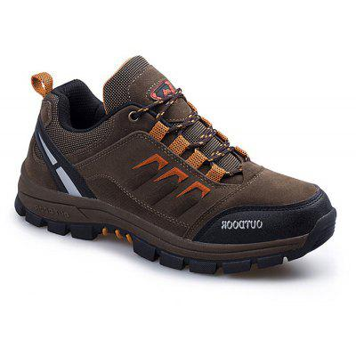 Men Outdoor Soft Breathable Hiking Sporty Athletic Shoes